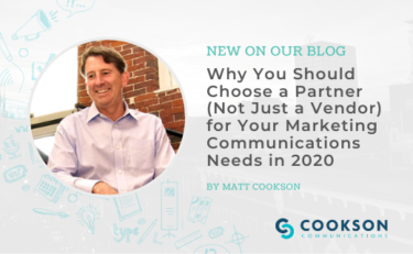 Why you should choose a partner and not a vendor for your marketing communications
