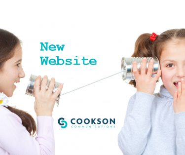 New website for Cookson Communications, a New Hampshire communications, public relations, branding agency