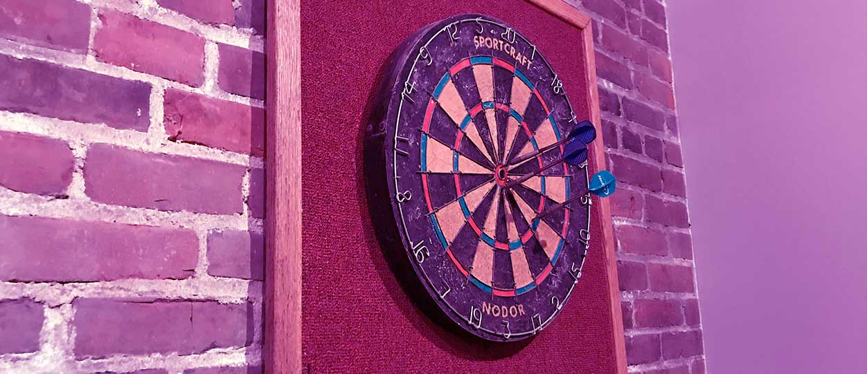 Cookson Communications Dartboard
